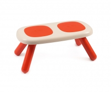 Dětská lavice červená