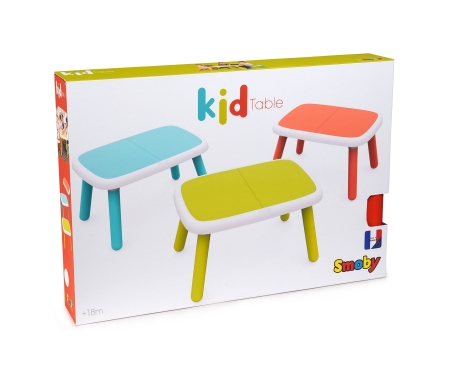Dětský stolek červený