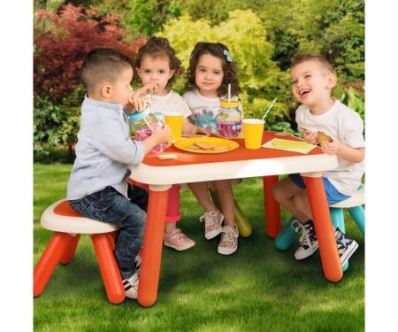 smoby Dětský stolek červený