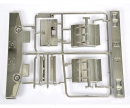 tamiya D-Parts Bumper chrome 56301/56304