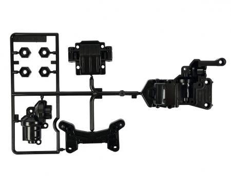 A-Parts Gearbox fr. Black TA-01/TA-02