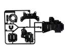 tamiya B-Parts Gearbox rear Black TA-01/TA-02