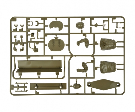 tamiya D-Teile D1-D25 Anbeuteile M4 Sher. 56014