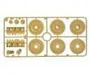 tamiya A-Teile Laufrollen (1) Königstiger 56018