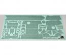 tamiya 1:35 WWII Zimmerit Bogen Panther G Early