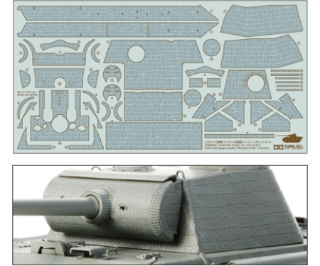 1:35 Panther G Early Zimmerit Sheet