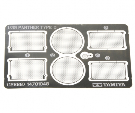 tamiya 1/35 Panther D P-E Grille Set