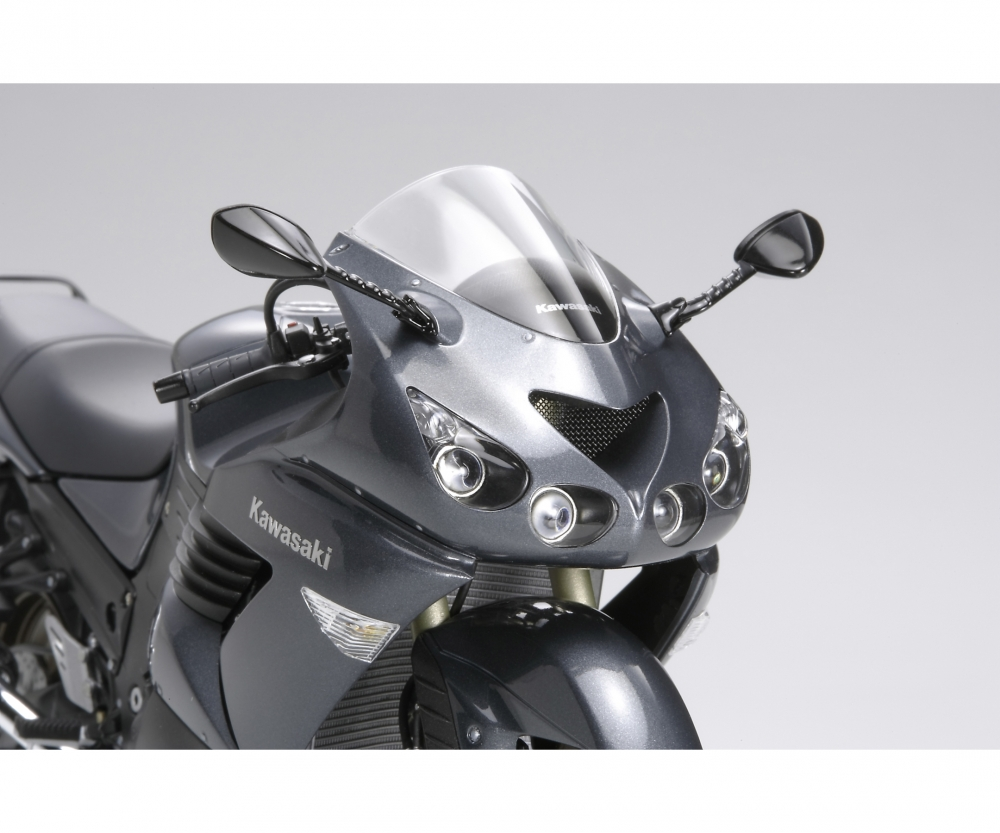TAMIYA 300014111-1:12 Kawasaki ZZR 1400 Ninja//ZX-14 Street