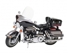 tamiya Harley FLH Classic Black