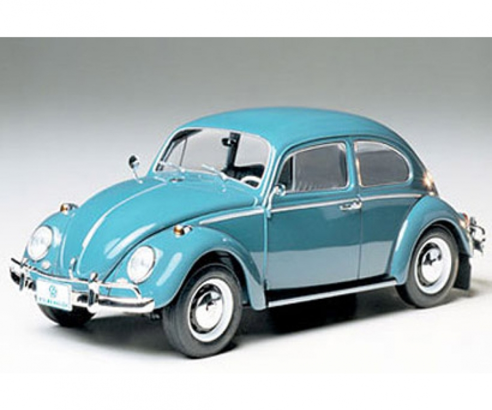 1966 Volkswagen 1300 Beetle VW Käfer 1:24 Model Bausatz TAMIYA 24136