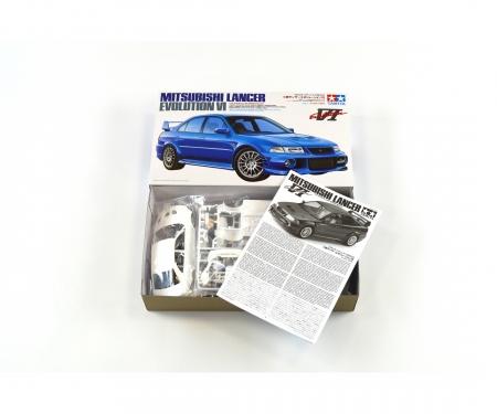 tamiya 1:24 Mitsubishi Lancer Evolution VI