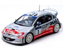 tamiya Peugeot 206 WRC 2002