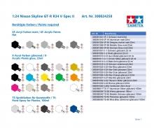 tamiya Nissan Skyline GT-R V-spec II