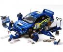 1:24 Figure-Set Rally Mechanics (5) w/A.
