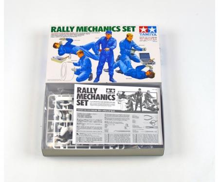 tamiya 1:24 Figure-Set Rally Mechanics (5) w/A.