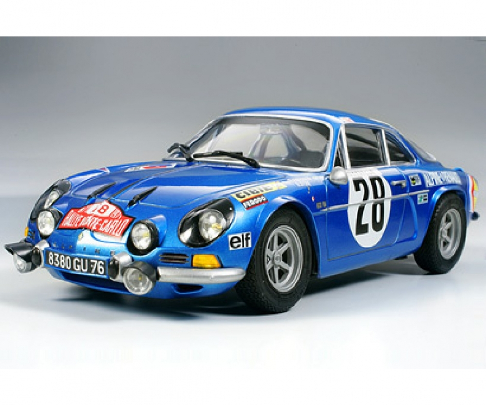 1 24 renault alpine a110 71 monte carlo fahrzeuge 1 24. Black Bedroom Furniture Sets. Home Design Ideas