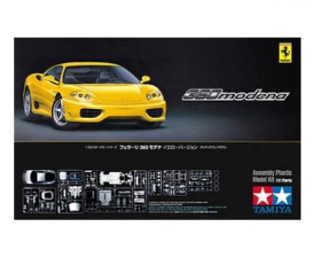 1:24 Ferrari F360 Modena Yellow Streetv.