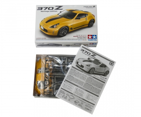 tamiya 1:24 Nissan 370Z Heritage Edition