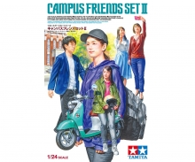 tamiya 1:24 Fig.-Set Campus Friends II