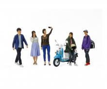 tamiya 1:24 Fig.-Set Campus Friends II