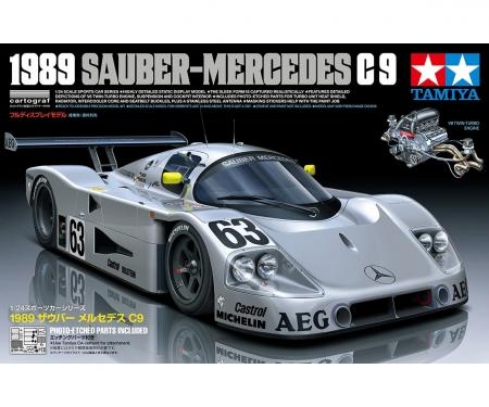 tamiya 1:24 Sauber-Mercedes C9 1989