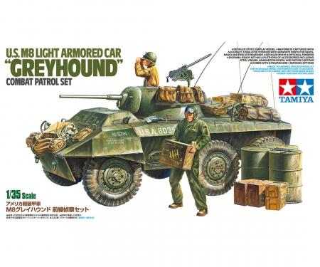 tamiya 1:35 US M8 Greyhound Combat Patrol Set