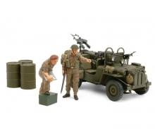 tamiya 1:35 Brit. SAS Kommandowagen 1944 (2)