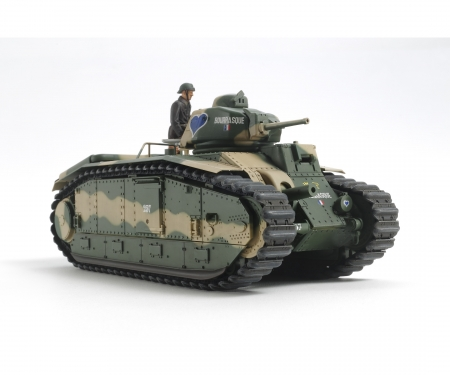 1:35 WWII Fren. Tank B1 bis (motor.)
