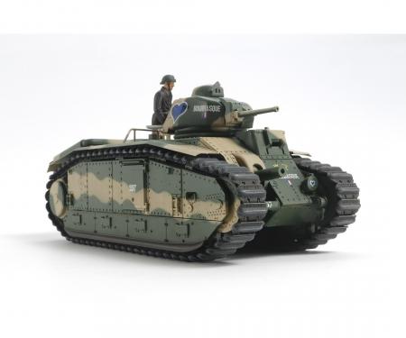 tamiya 1:35 WWII Fren. Tank B1 bis (motor.)