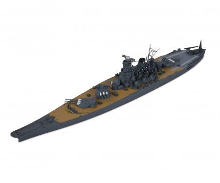 tamiya 1:700 Jap. Yamato Schlachtschiff WL