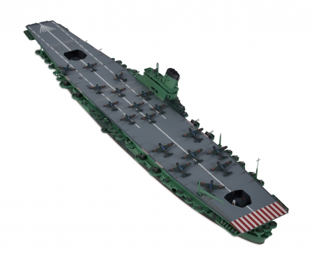 tamiya 1:700 Jap. Shinano Aircraft Carrier WL