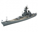 tamiya 1:700 US New Jersey Battleship WL