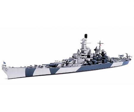 tamiya 1:700 WL US Battleship BB-61 Iowa