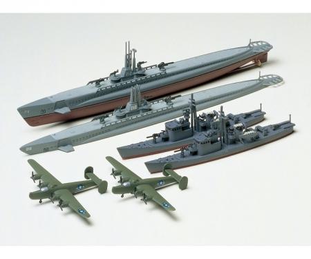 tamiya 1:700 Jap. U. S. Gato Cl.&Jpn. S.Chaser