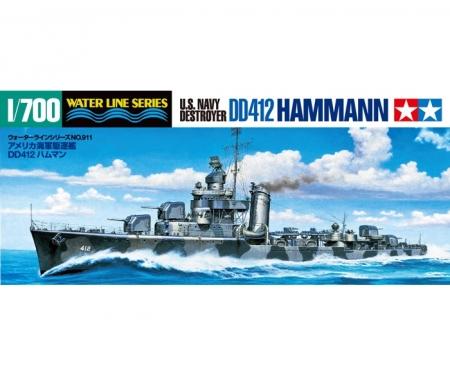 tamiya 1:700 US Hammann Zerstörer WL