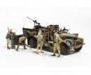 tamiya 1:35 Brit. LRDG Befehlswagen mit 7 Fig.