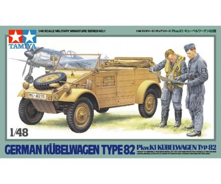 tamiya 1:48 WWII Ger.Kübelwagen Typ 82 Pkw.K1