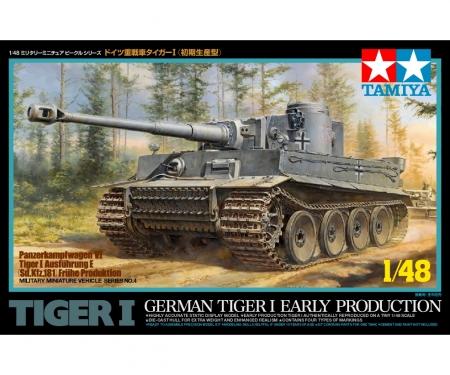 tamiya 1:48 WWII Ger.Sd.Kfz.181 Tiger I Ausf.E
