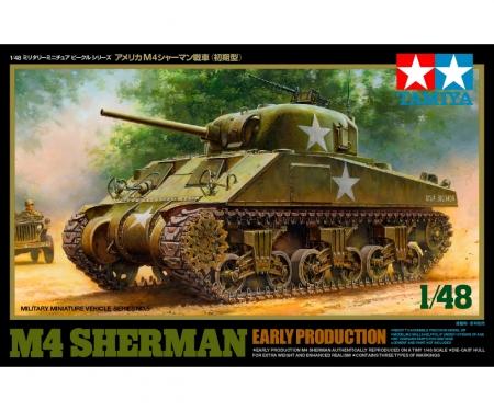 tamiya 1:48 US Mit. Panzer M4 Sherman frü.