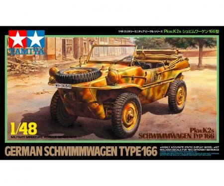 tamiya 1:48 Dt. Schwimmwagen Typ166 Pkw.K2