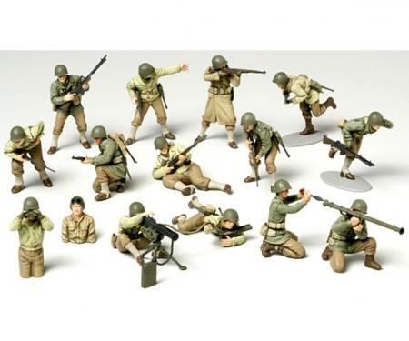 tamiya 1:48 US Figure-Set Infantry GI Set