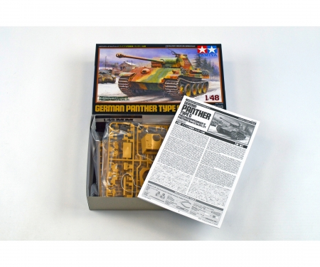 tamiya 1:48 Ger. Battle Tank Panther Type G
