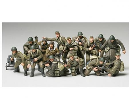 tamiya 1:48 Rus. Figure-Set Infantry/Tank Crew