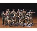 tamiya 1:48 Brit. Figure-Set Infantry Europe