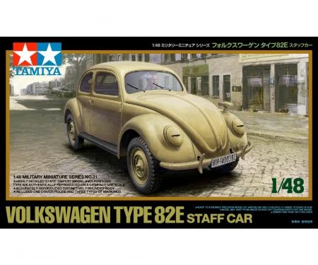 tamiya 1:48 Volkswagen Type 82E Staff Car