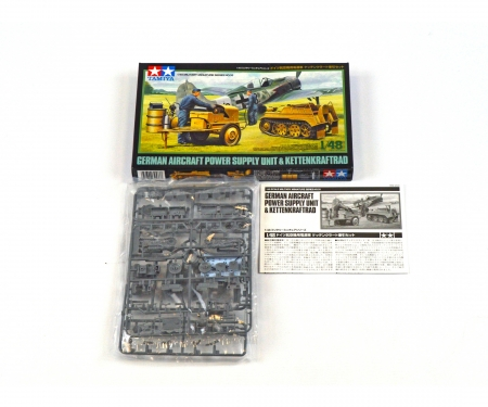 tamiya 1:48 WWII Ger.Kettenkrad w/Airc.Pow.Sup.