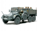 tamiya 1:48 Ger. Truck Krupp Protze w/8 Fig.
