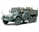 tamiya 1:48 WWII Ger.Truck Krupp Protze w/8Fig.