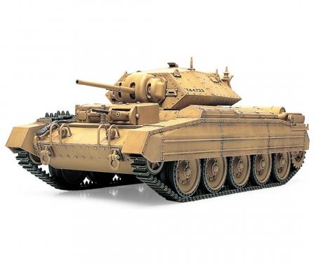 1:48 WWII Brit. Crusader Tank Mk.I&II