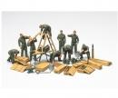 1:48 WWII Diorama-Set Feld-Instandsetz.